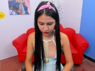Young Cam Doll alondrasweet. brunette with small tits