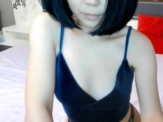 Young Cam Doll minniewong. brunette with small tits