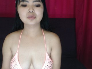 Asian ariwells with brown eyes and shaved pussy