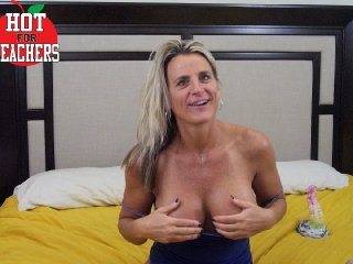 Big Boobies hot4teachers- with trimmed pussy