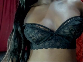 Spanish Sex Cam ambarblack with brown eyes and average tits